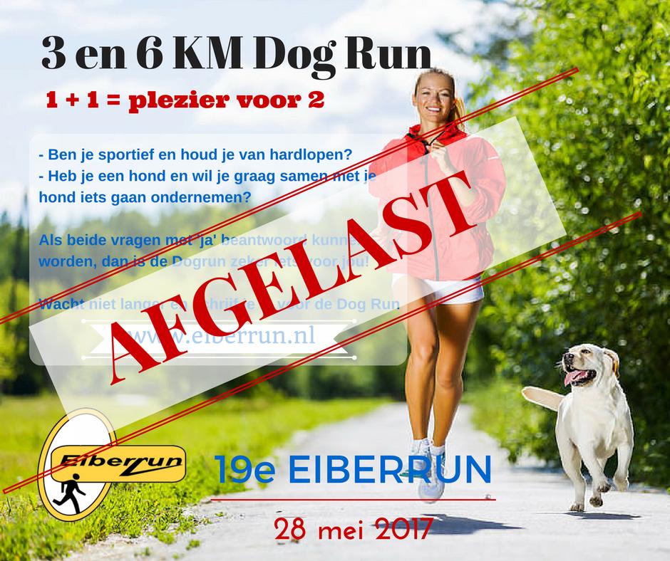 Eiberrun - Discus Eibergen Dogrun AFGELAST