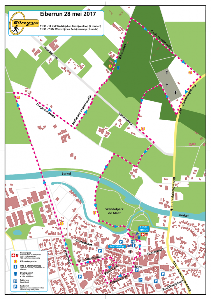 Eiberrun - Eiberrun 2017 een nieuwe route