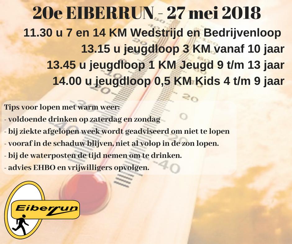 Eiberrun - Eiberrun gaat door Dogrun is afgelast