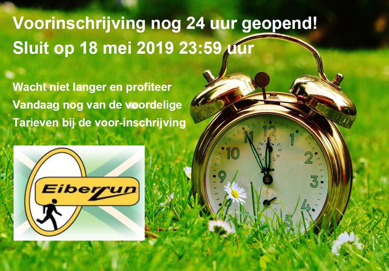 Eiberrun - nog 24 uur voorinschrijven